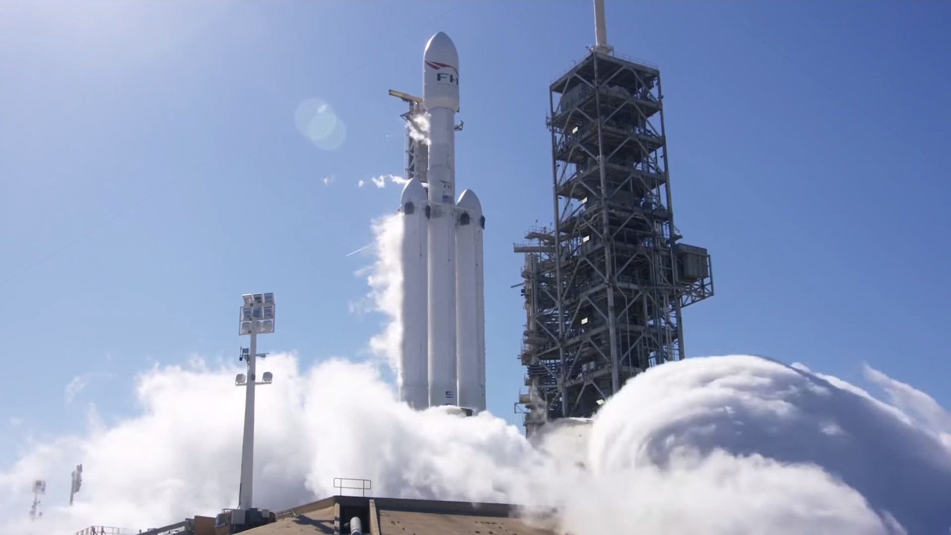 spacex falcon heavy launch today - HD1600×840