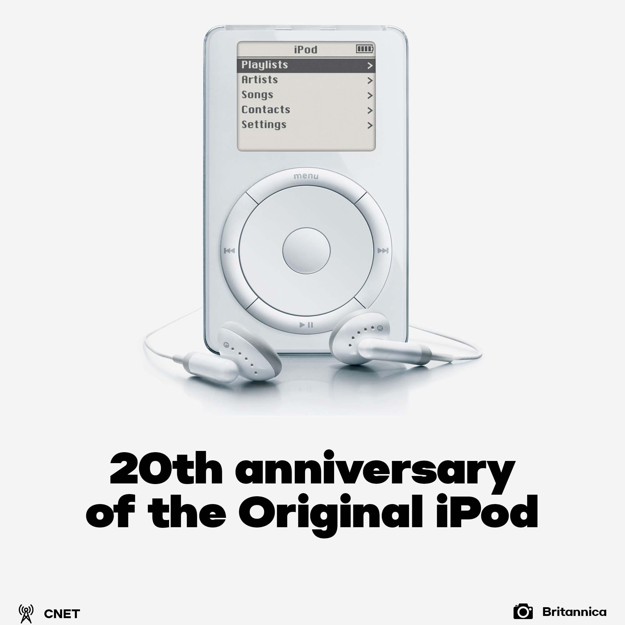 iPod 20th anniversary